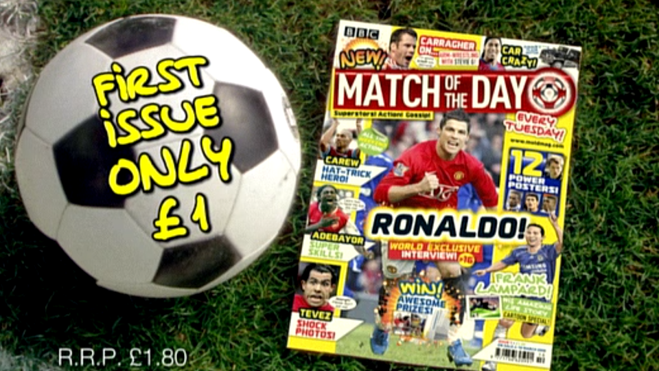 Match of The Day Magazine Ad