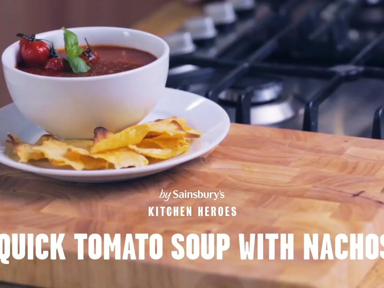 SAINSBURY'S: 'TOMATO SOUP'