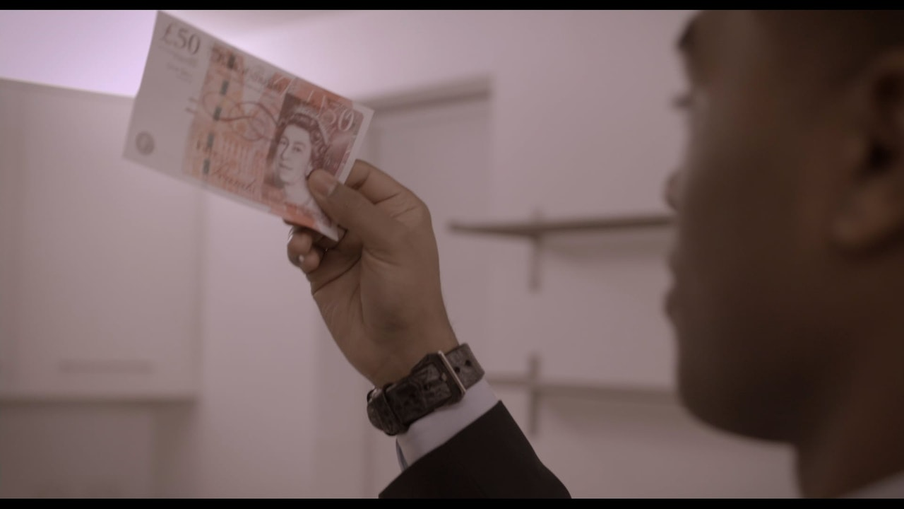 DIRTY MONEY: SCENE 'MAKING MONEY MONTAGE'