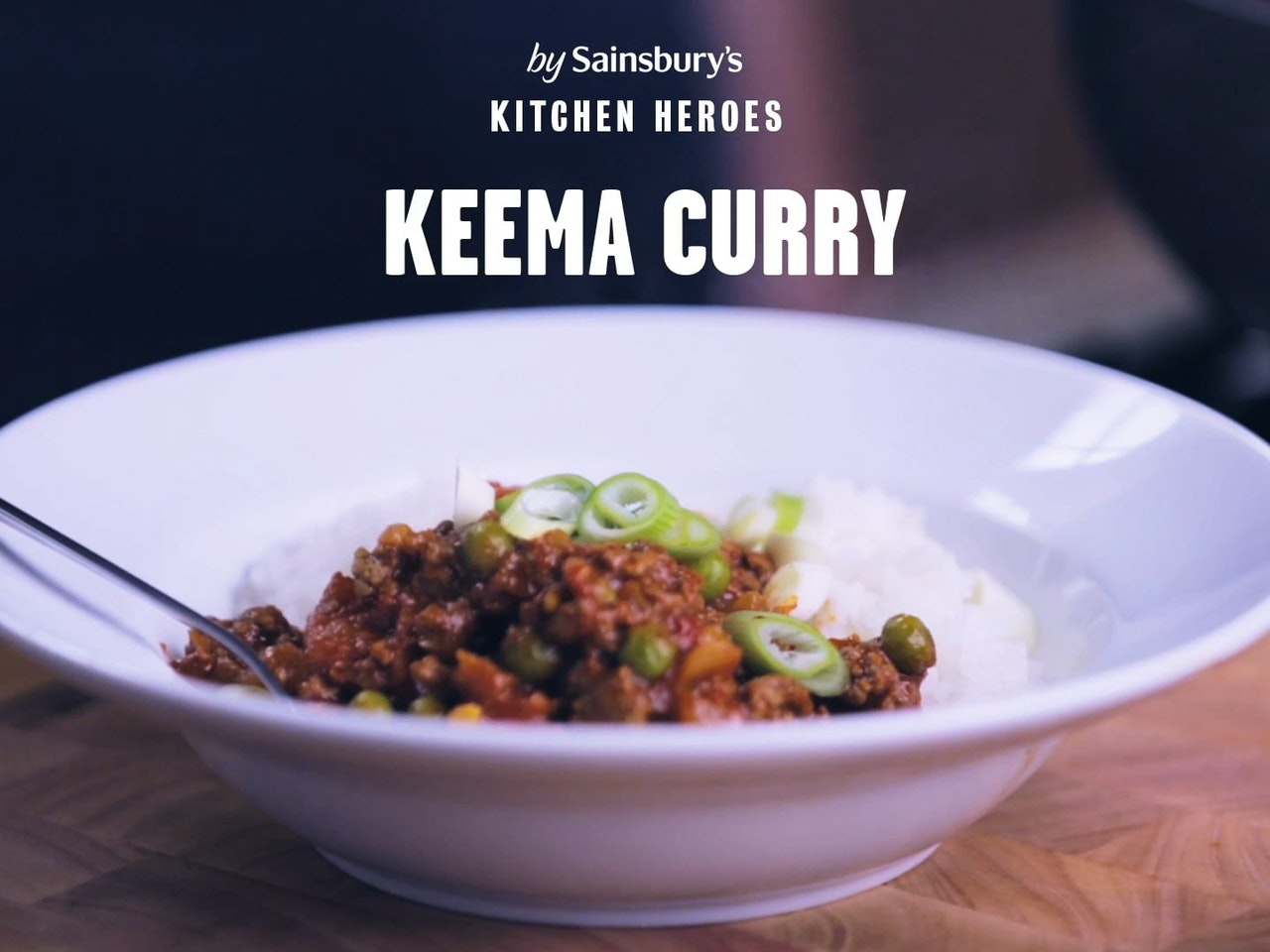SAINSBURY'S: 'KEEMA CURRY'