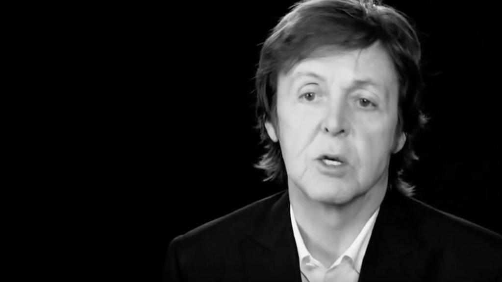 'Live Kisses' Paul McCartney (Jonas Akerlund ) Grammy Award 'Best Live Film 2014'
