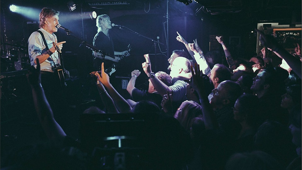 Paul McCartney at the Cavern - Paul Dugdale Done and Dusted. -