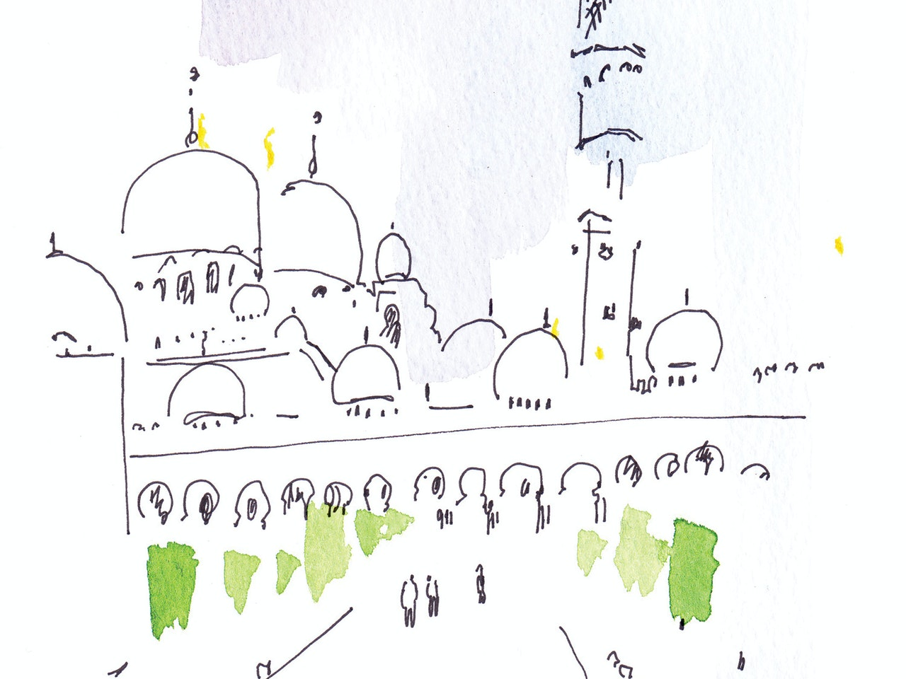 Vicky Bentham Green 25.09.14 Grand Mosque Abu Dhabi3 Unpublished