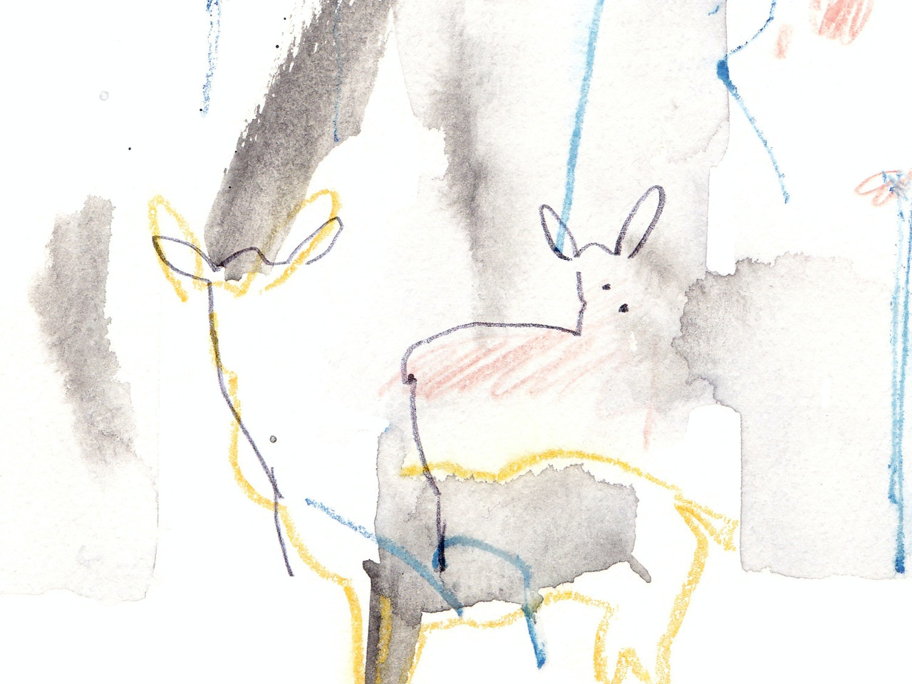 Vicky Bentham Green 16.01.15 Deer2 Unpublished