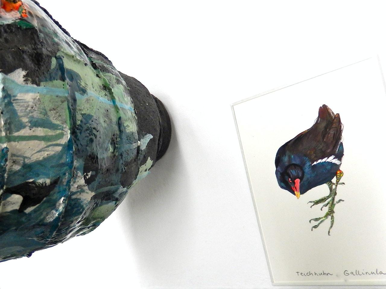 Farbe in Bewegung - Künstlergespräch mit Elke Sada