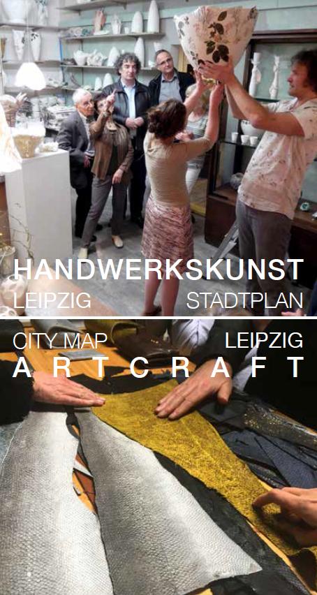 Stadtplan Handwerkskunst & Design Leipzig