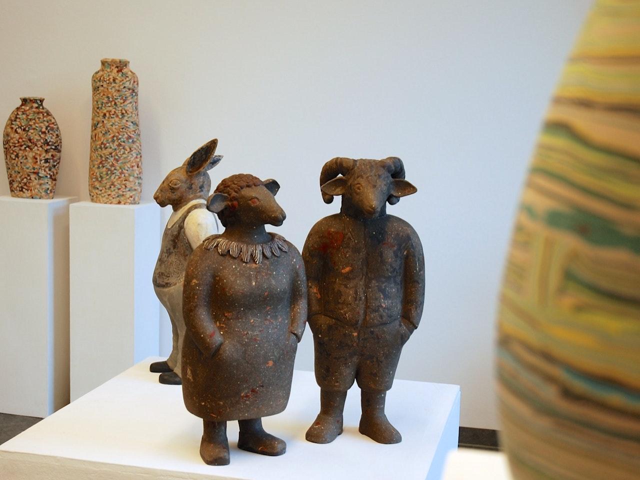"""Eröffnung """"Dorothee Wenz: Gefäße & Figuren"""" Galerie terra rossa, Leipzig"""