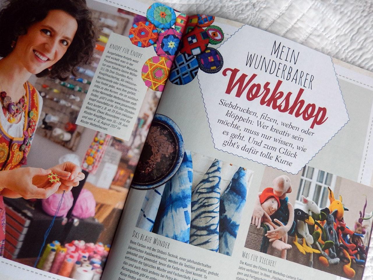 wunderbare Workshops