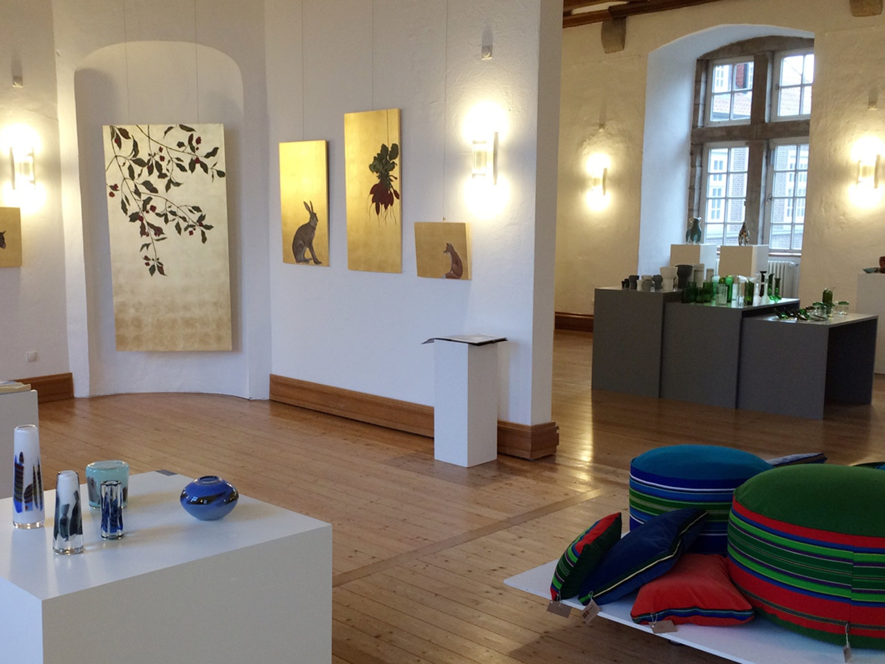 Eröffnung Schlosshandel 2017 - Schloss Landestrost Neustadt am Rbg.