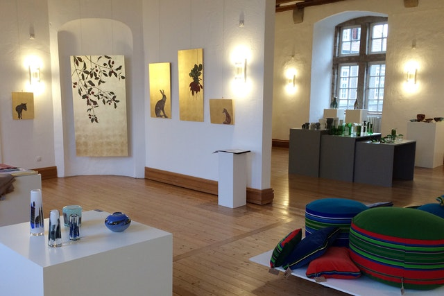 Eröffnung Schlosshandel 2017 - Schloss Landestrost, Neustadt am Rbg.