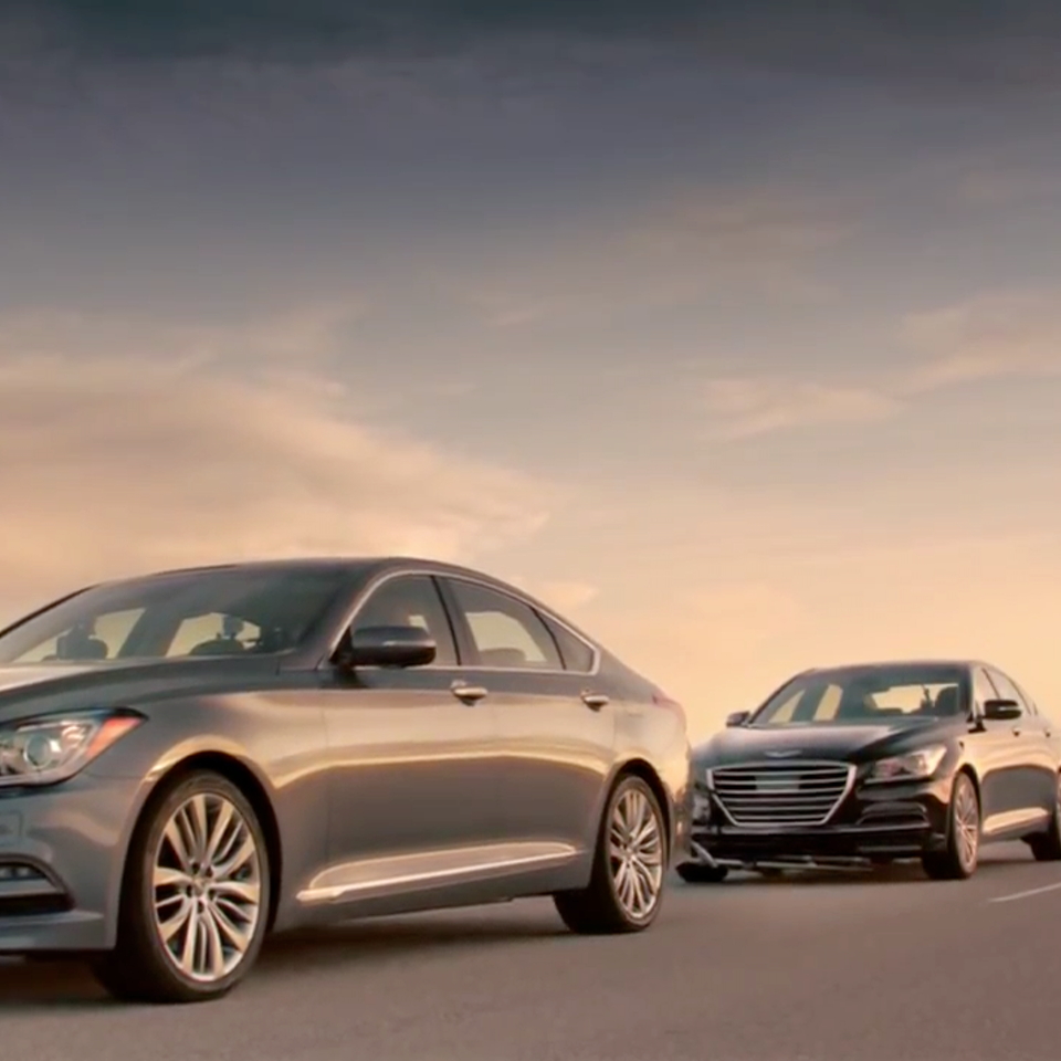 KIT LYNCH-ROBINSON - Hyundai  'The Empty Car Convoy'