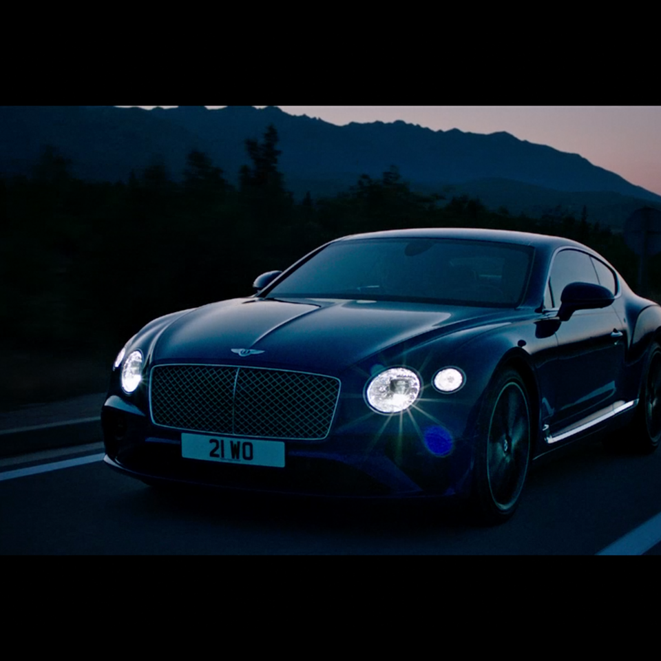 KIT LYNCH-ROBINSON - Bentley Continental 2018