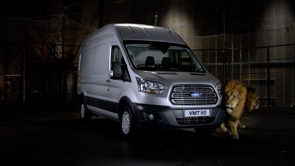 Ford Transit 'Messy Eaters'
