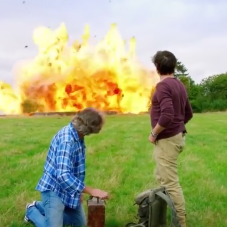 KIT LYNCH-ROBINSON - Blowing up Clarkson's house