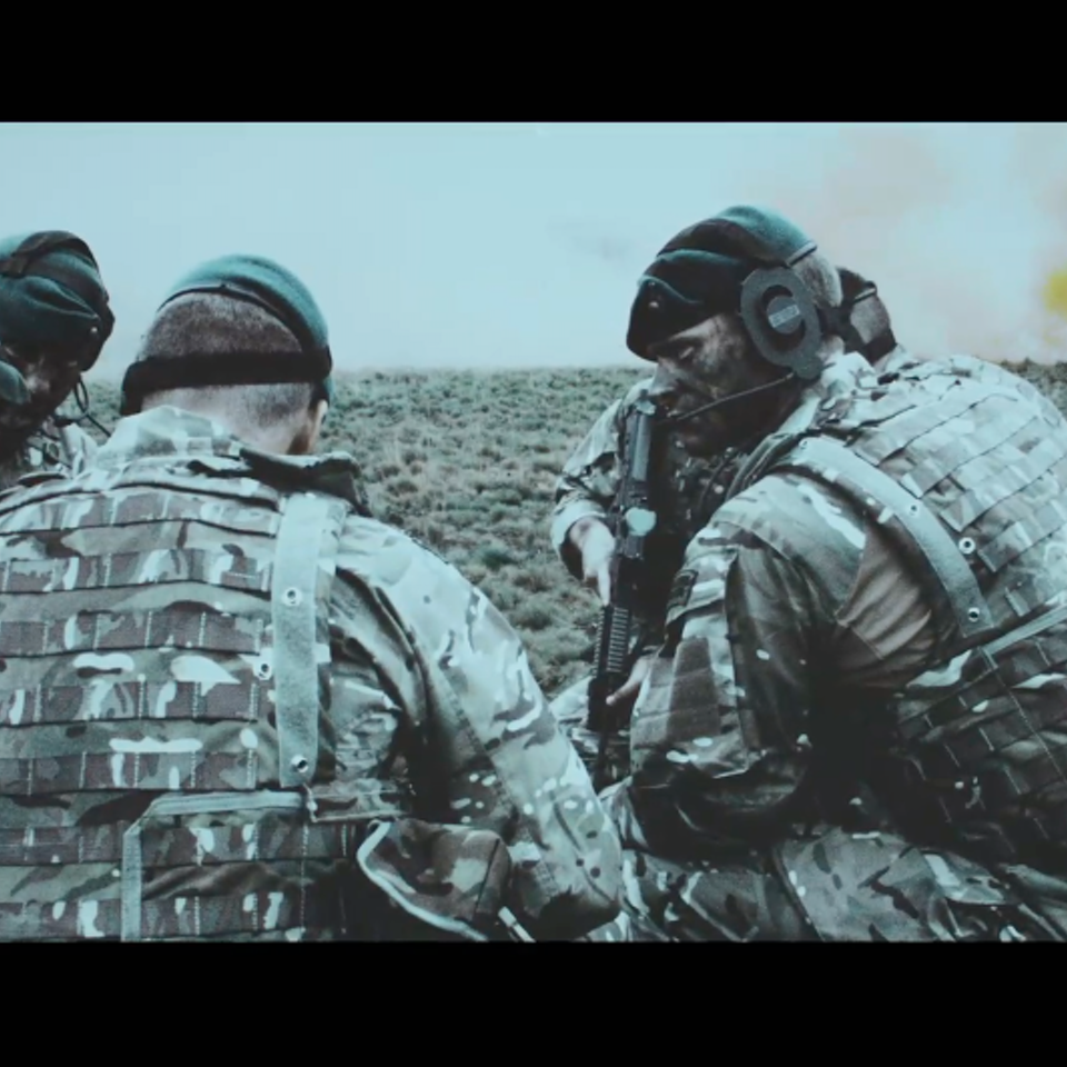 KIT LYNCH-ROBINSON - Royal Marines Commando - 'Green Ops' Trailer