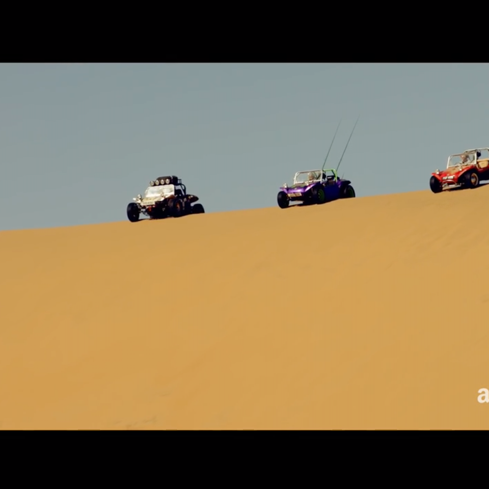 KIT LYNCH-ROBINSON - The Grand Tour Namibia Special