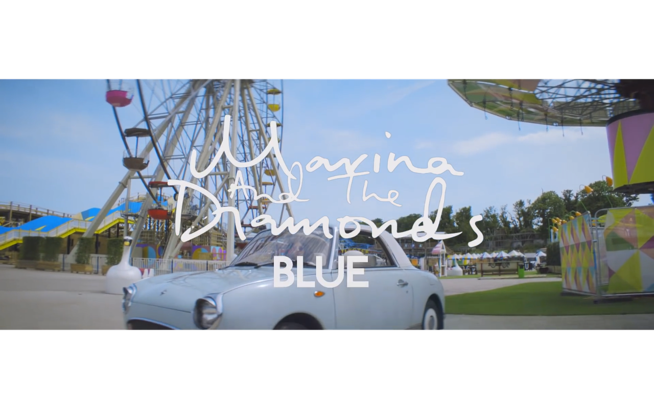 """Day out at the new Dreamland filming Music Video for MARINA AND THE DIAMONDS """"BLUE"""" with Dir: Charlotte Rutherford"""