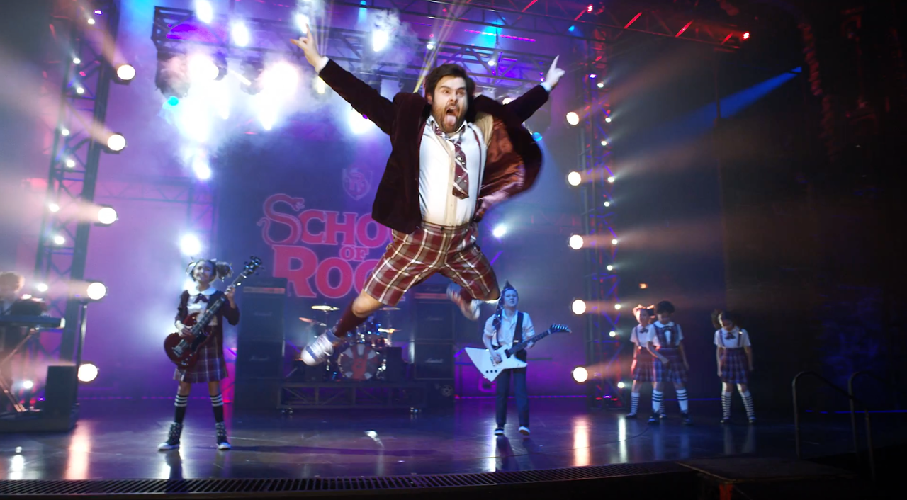 "Great fun working on this Trailer for West End Theatre Production ""School Of Rock"""