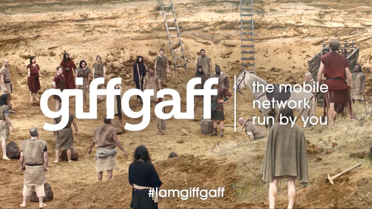 """GiffGaff """"I am a GiffGaff Member"""""""
