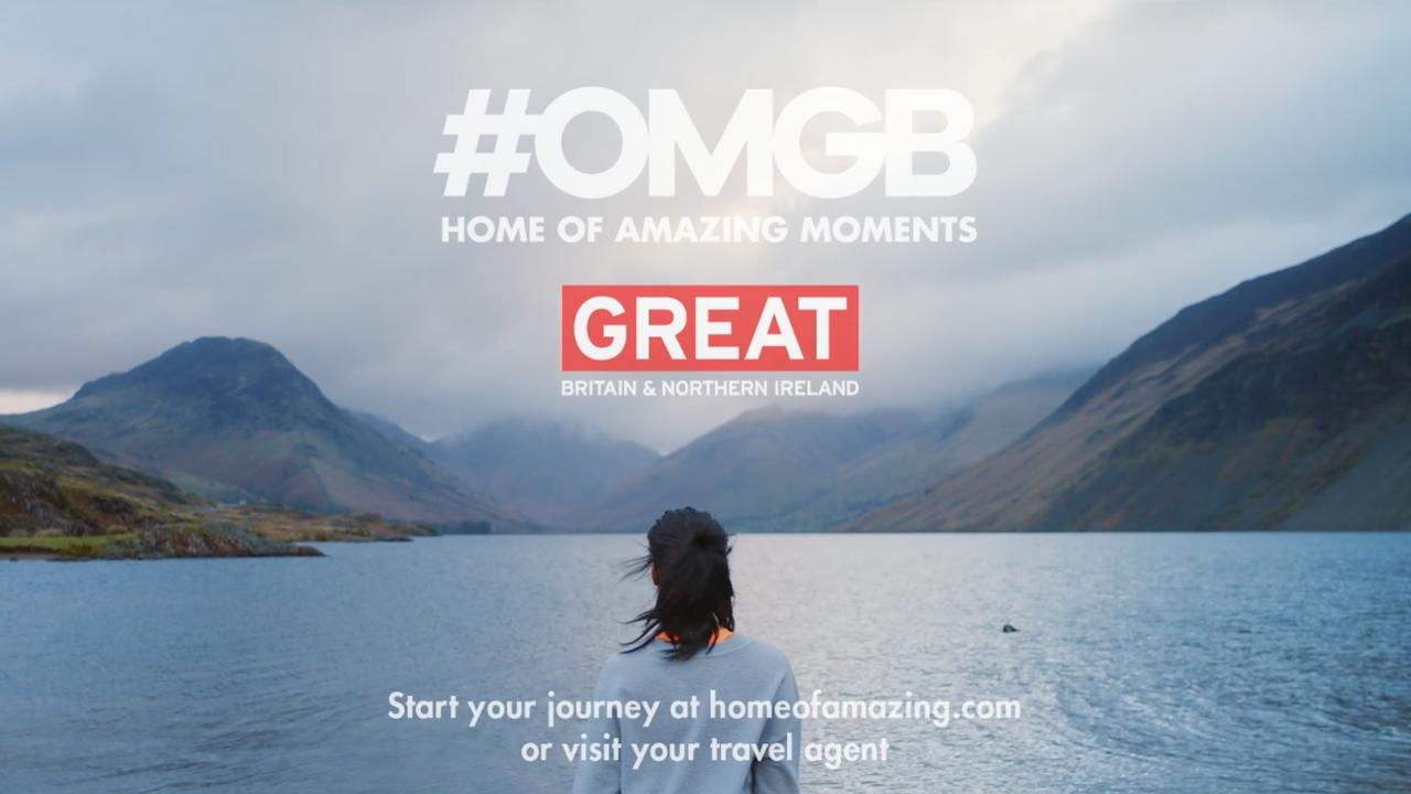 """Visit England """"Amazing Moments"""""""