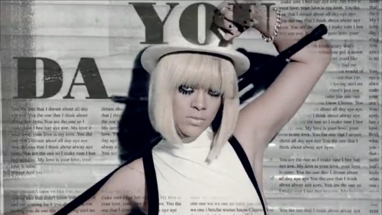 """Rihanna """"You Da One''"""