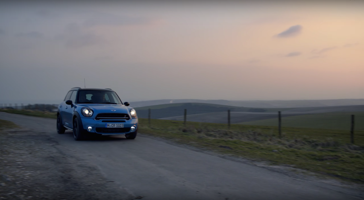 """New Film for MINI Countryman """"Endless Adventure"""" is out!  The Film Gods where on our side for 2x beautiful days filming in Sussex with a great crew and plenty of toys to play with."""