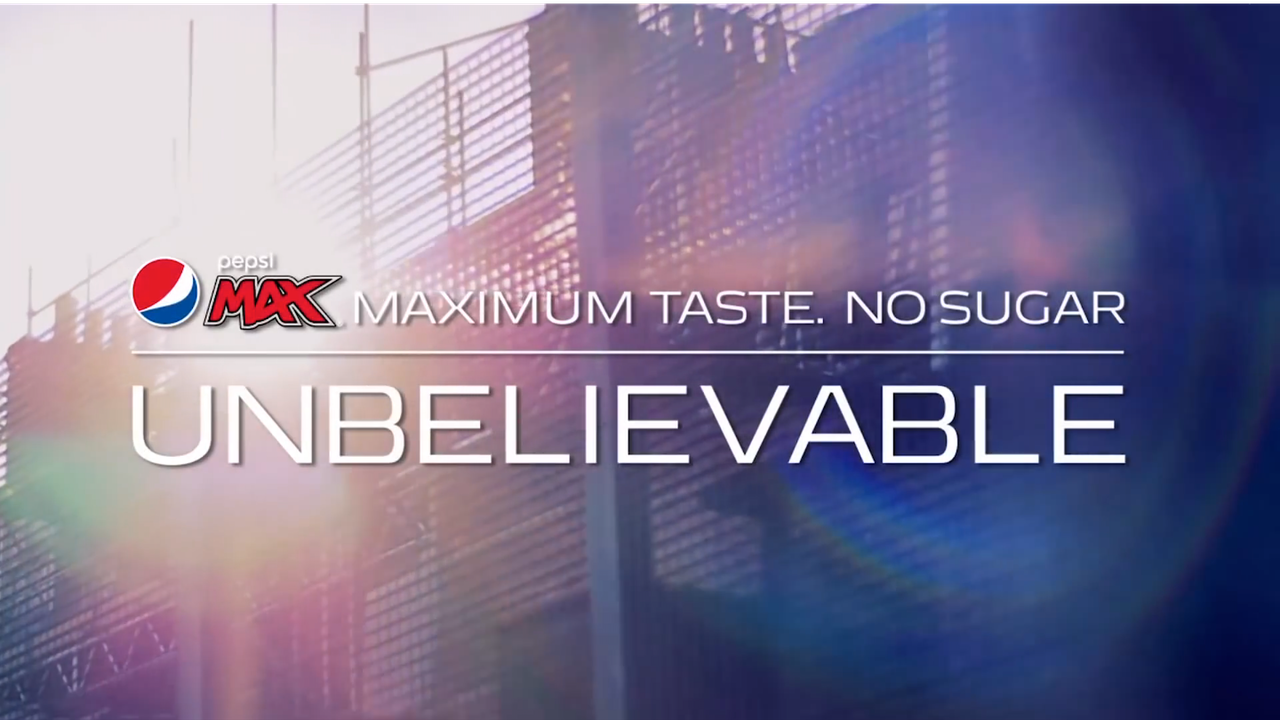 "Pepsi Max ""The Unbelievable Game"""