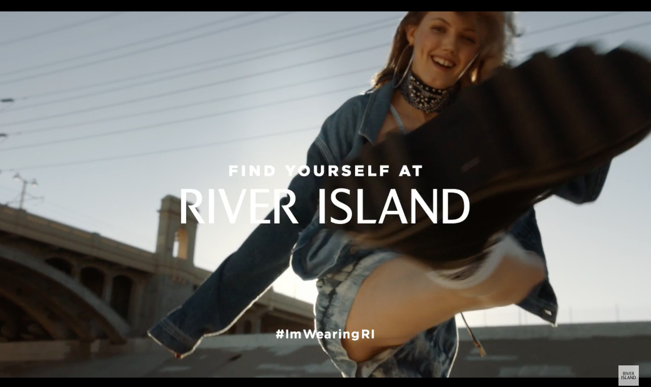 Amazing Trip to LA LA Land to work on this commercial for River Island SS17