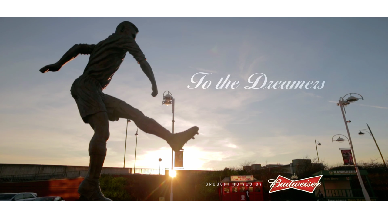 "Budweiser FA Cup ""To The Dreamers"""
