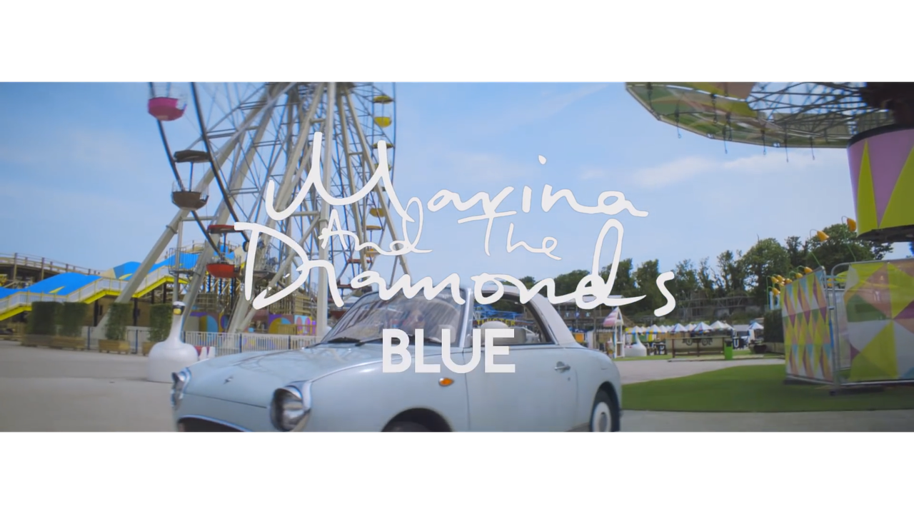 "Music Video for MARINA AND THE DIAMONDS ""BLUE"""