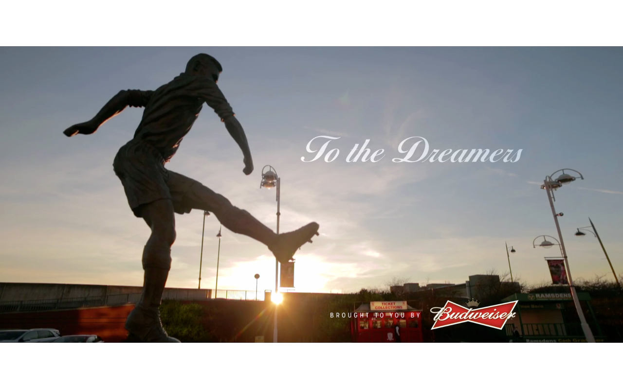 Budweiser FA Cup Commercial is online