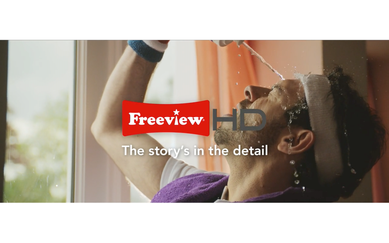 Commercial for Freeview HD is out.....