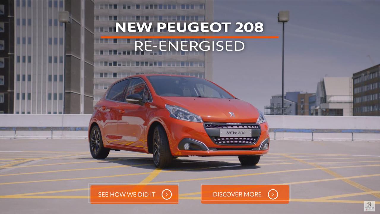 Peugeot 'Unleashed, Uncut'
