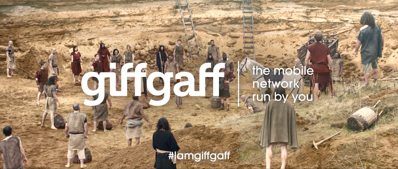 EPIC Commercial for GiffGaff is out!
