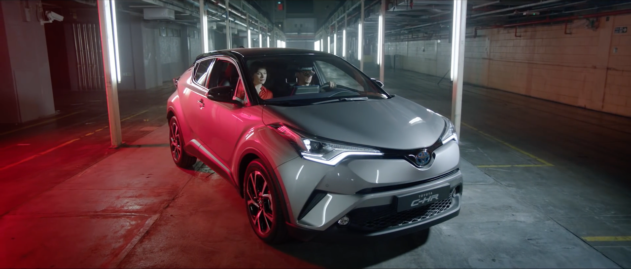 ​Amazing project I got to work on with Milla Jovovich for Toyota C-HR - The Night That Flows