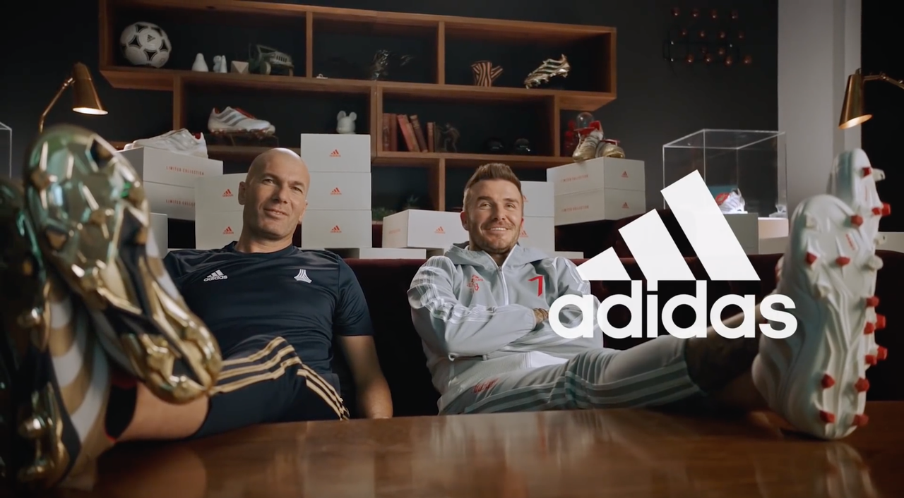 "It's not every day you get to work with Football Legends like Beckham and Zidane! New work out for Adidas ""25 years of Predator""  Directed by Dan Henshaw."