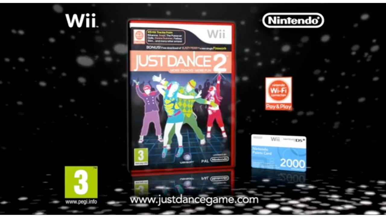 "Nintendo ""Wii Just Dance 2"""