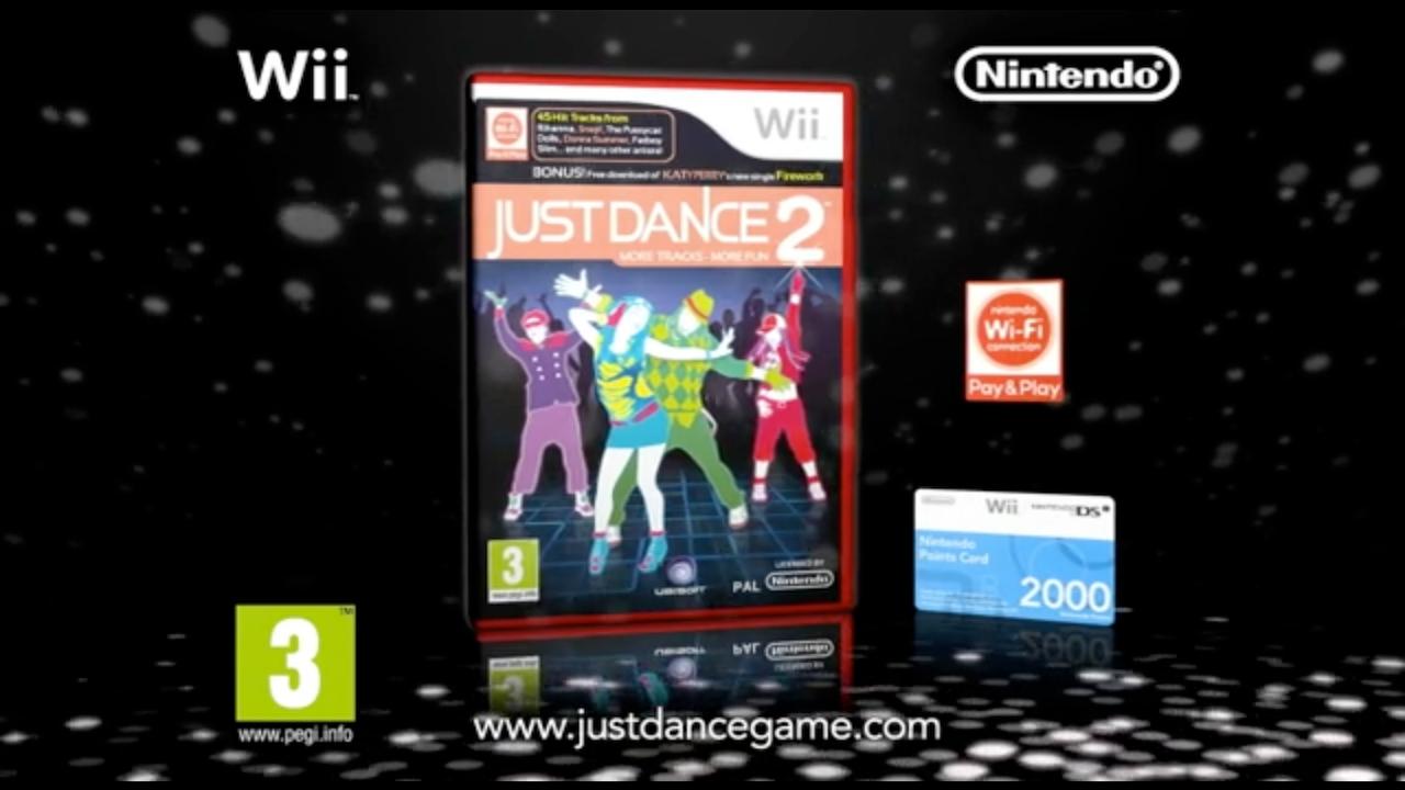 """Nintendo """"Wii Just Dance 2"""""""