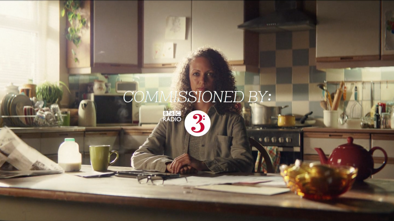 "3x commercials for BBC​ 3 ""Alice Oswald"" ""Soweto Kinch"" ""Matthew Herbert"""