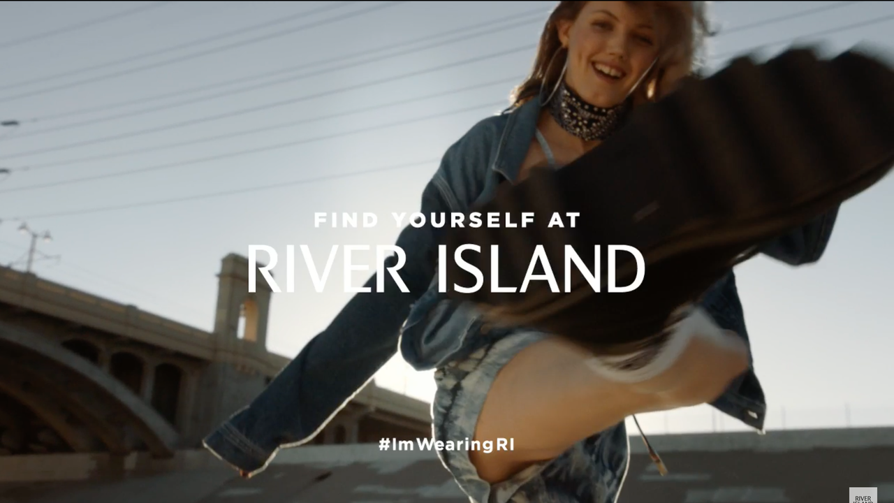 "Commercial for River Island ""Spring Summer 2017​"""