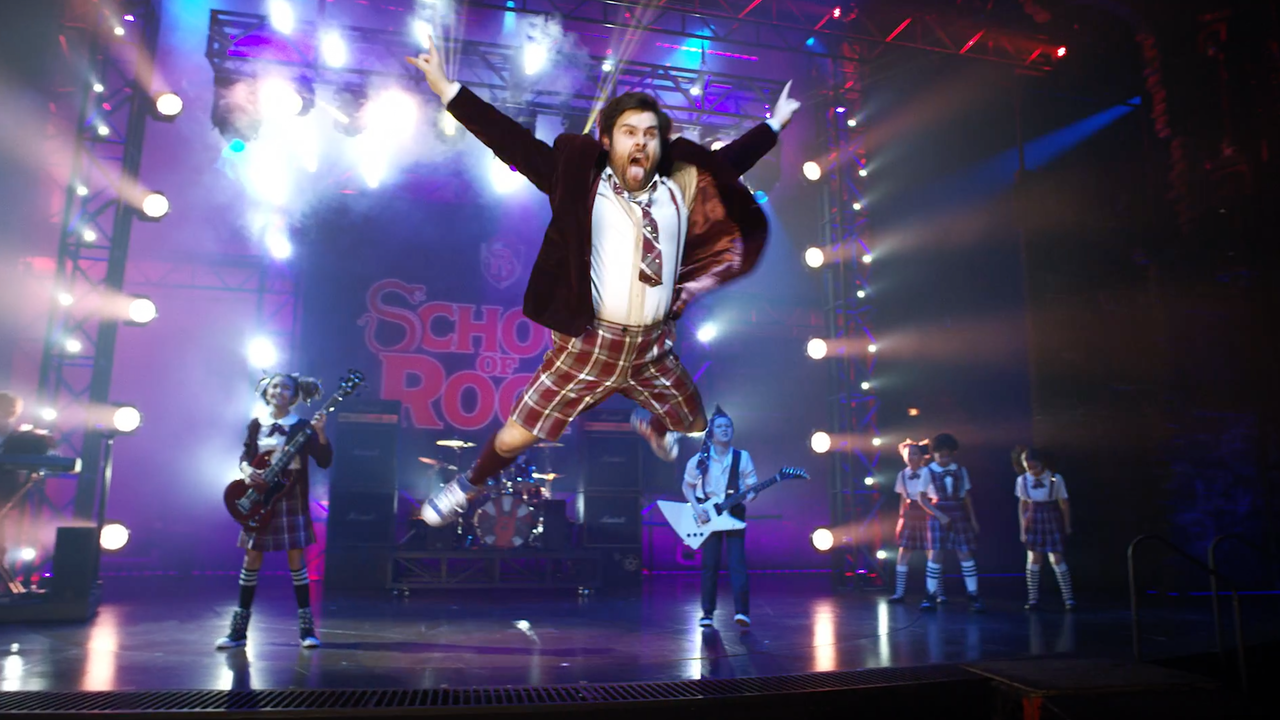 "Trailer for West End Theatre Production ""School Of Rock"""