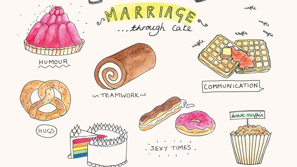 A Guide to Marriage (...through cake)