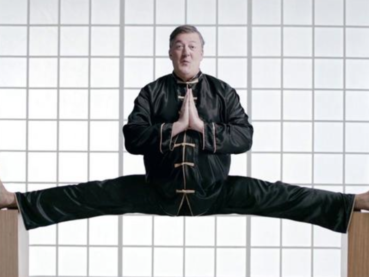virgin media, stephen fry 'kung fu'