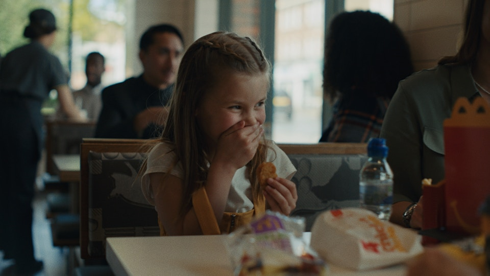 McDonald's - Laughter / Director: Billy Boyd Cape  / Academy Films