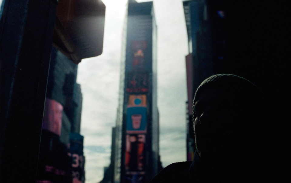 NY-34 - Time Square. New York. 35mm Portra 400.