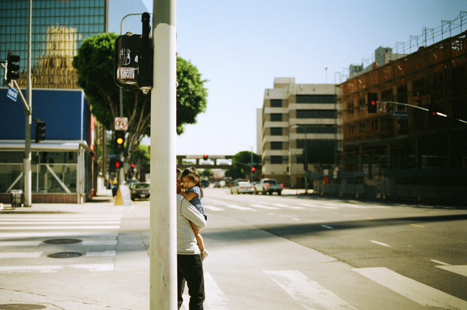 Website graded-37 - Downtown LA. 35mm Portra 400.