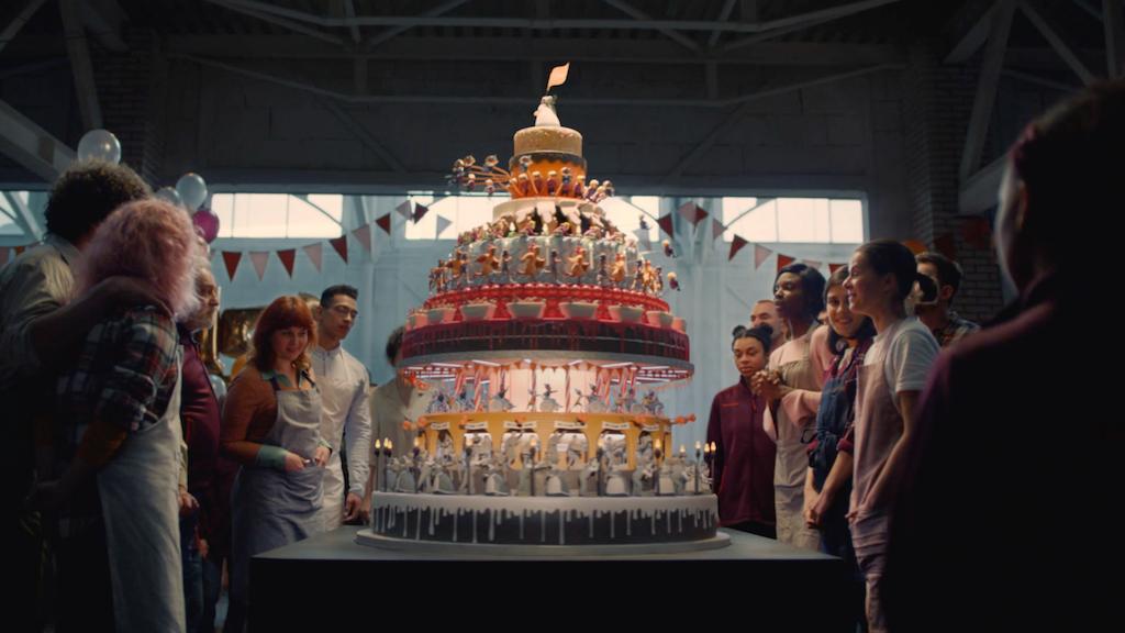 """Sainsbury's """"150th Anniversary Cake"""""""