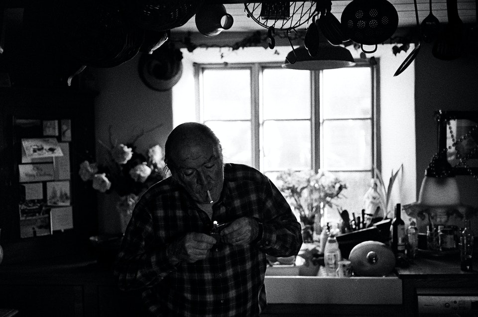 Website graded x2-9 - Dad. Dorset. 35mm Tmax 400.