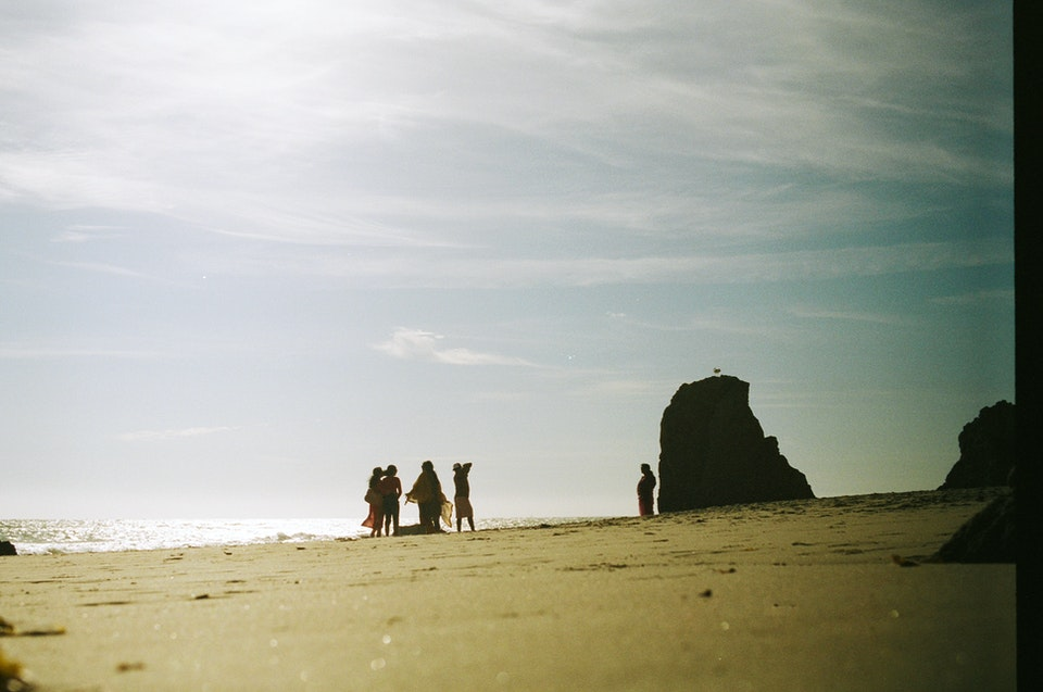 Website graded-39 - El Matador Beach. 35mm Portra 400.
