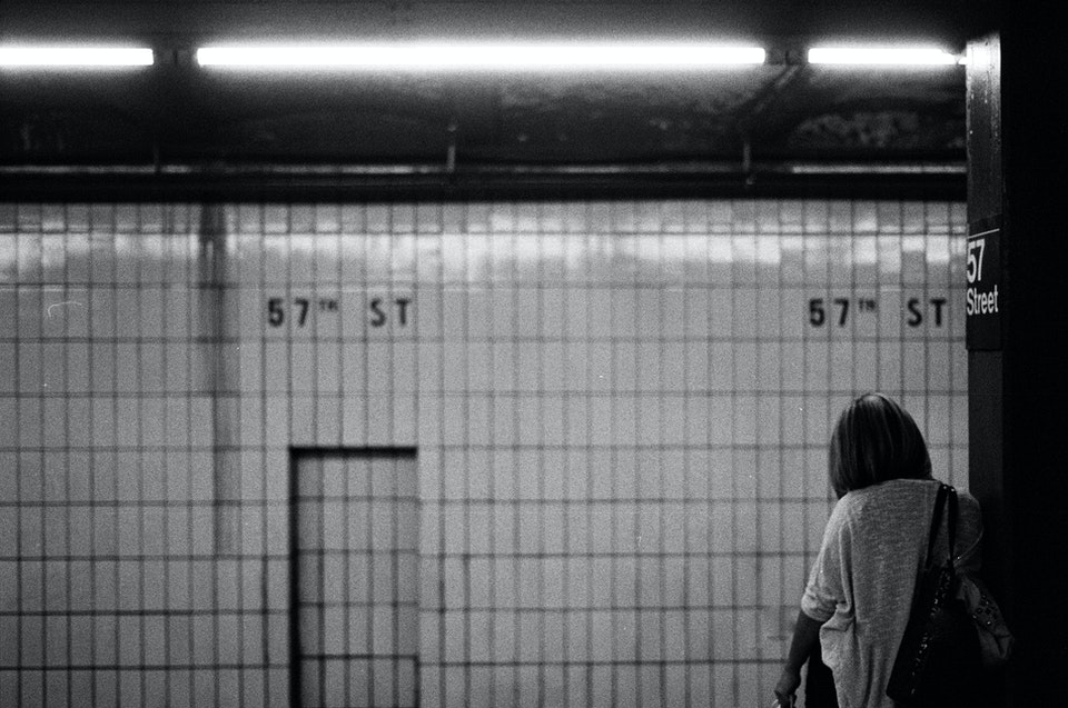 Website graded-42 - Subway. New York. 35mm Tmax 400